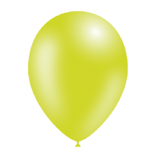 "Lime Green 5 inch Balloons - Decotex 5"" Balloons 100pcs"